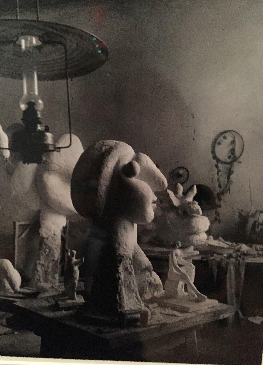 1932. Скульптурная мастерская Пикассо в Буажелу