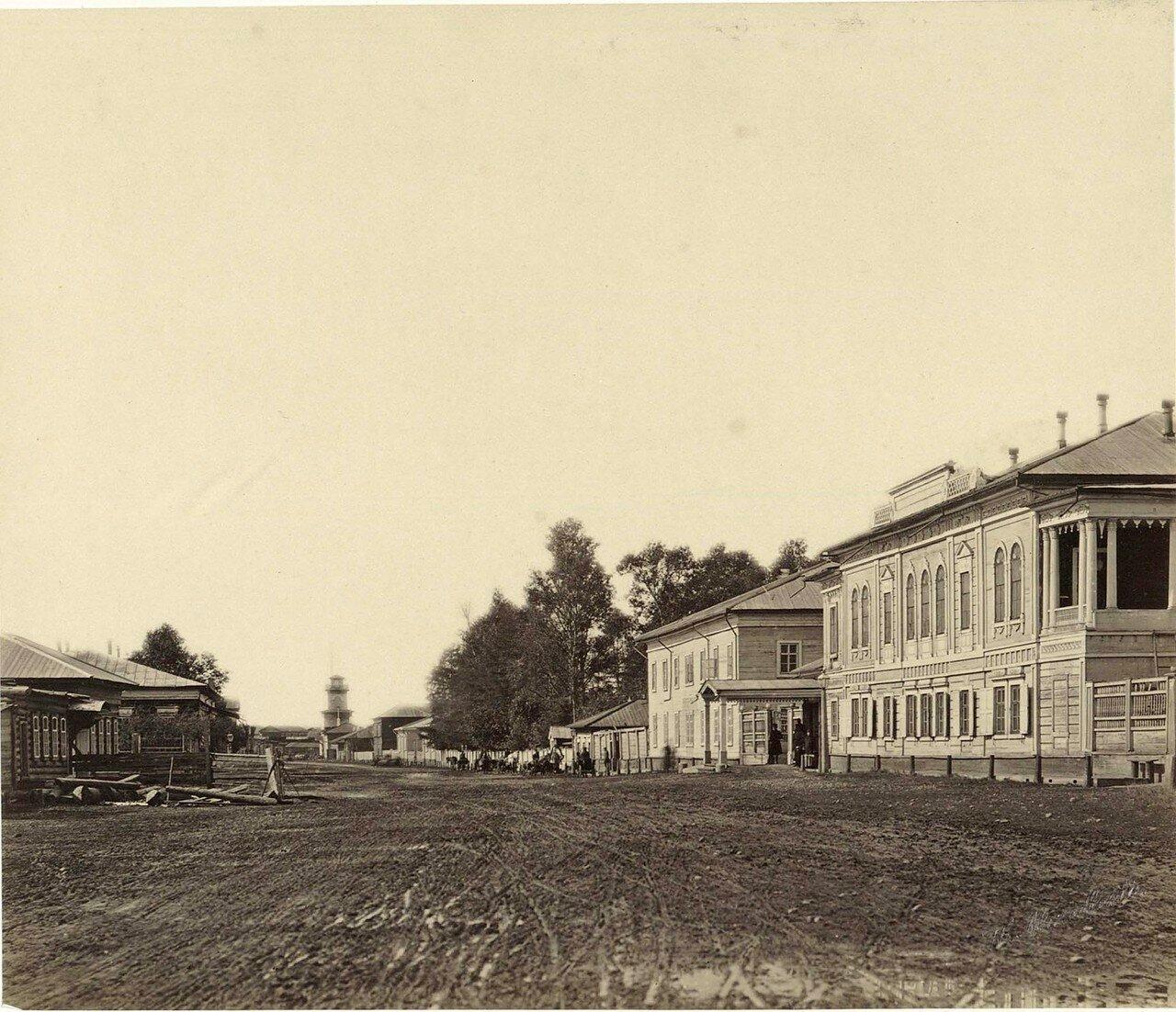 Шеламниковская улица. Дом губернатора. Общественный (интендантский) сад