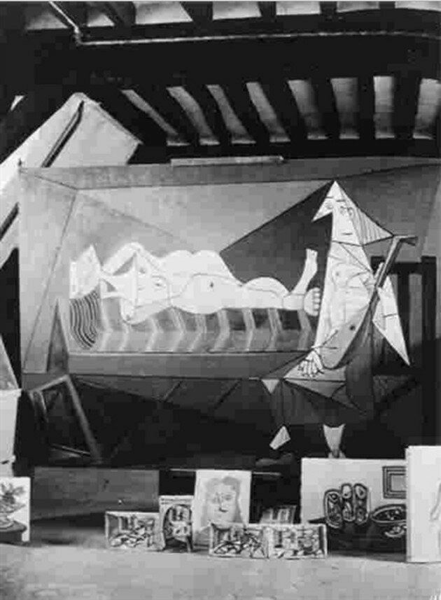 1948. Мастерская Пикассо