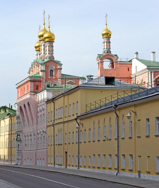 Соборы и Храмы Московского Кремля(Домовая церковь Похвалы Пресвятой Богородицы)