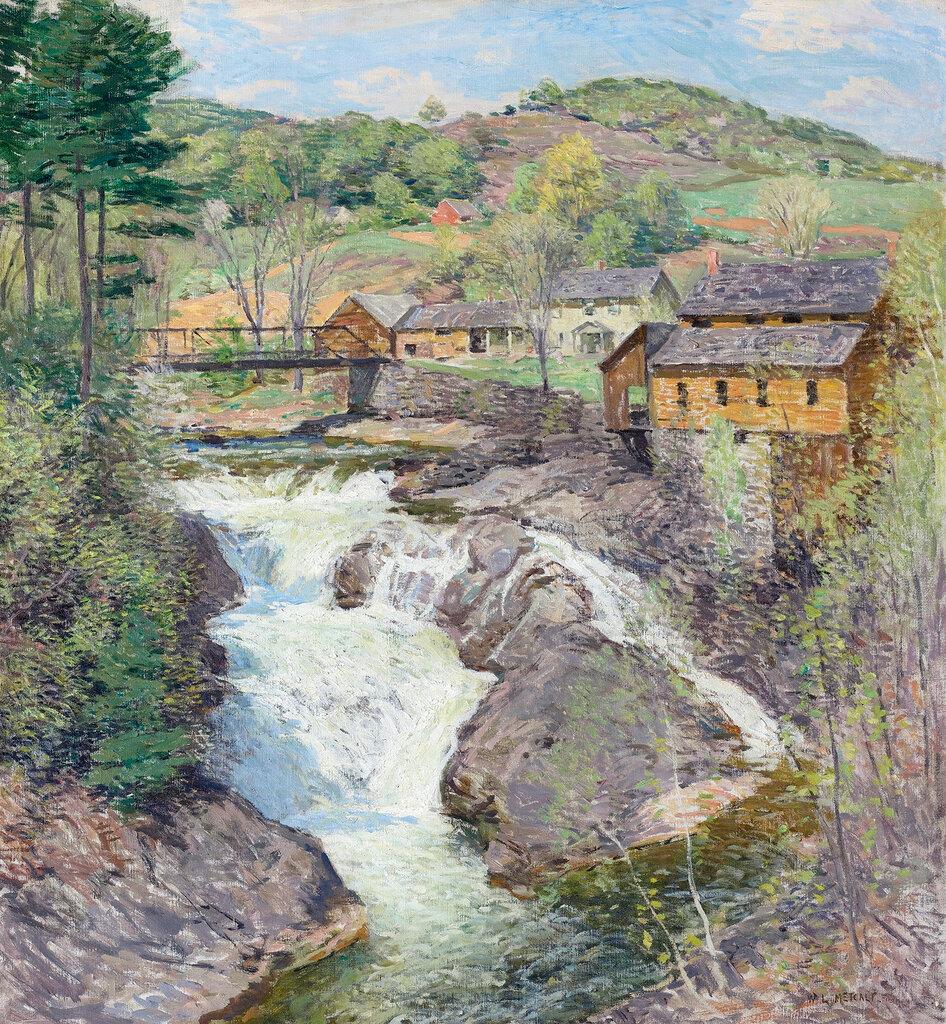 Willard Leroy Metcalf - The Falls, 1909-10.jpg