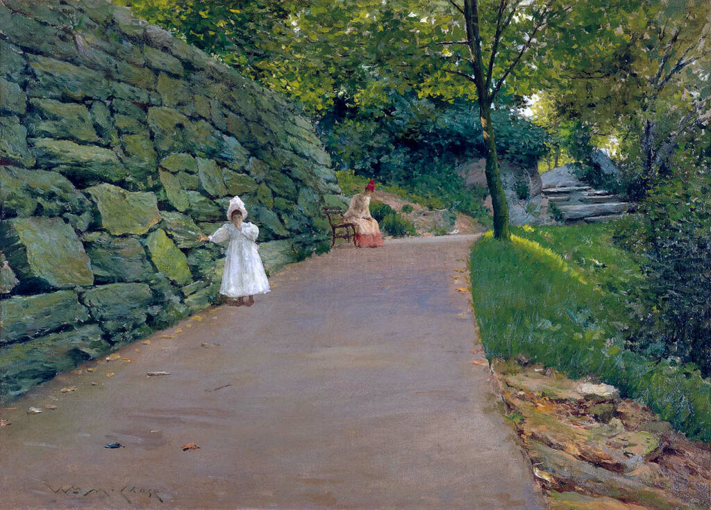 In the Park - a By-Path, 1890.jpg