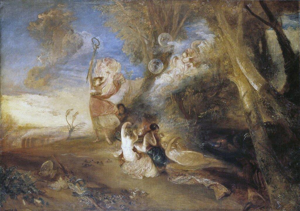 Vision of Medea 1828 by Joseph Mallord William Turner 1775-1851