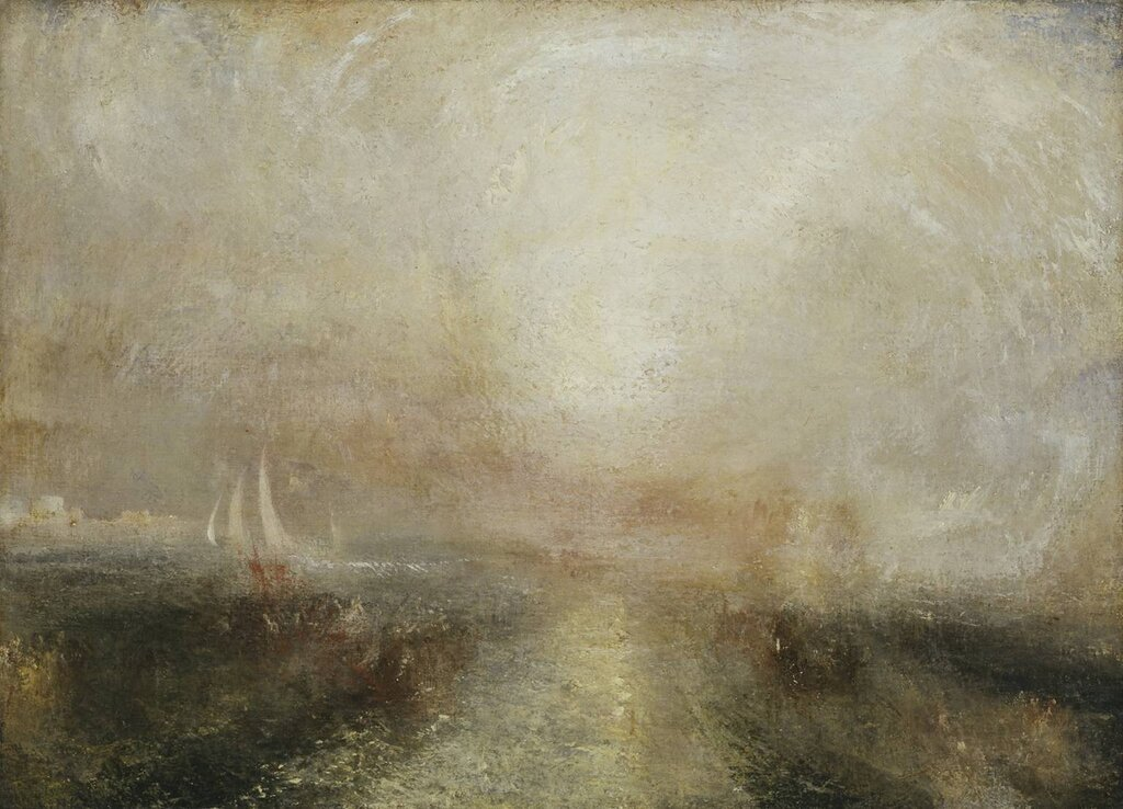 Yacht Approaching the Coast c.1840-5 by Joseph Mallord William Turner 1775-1851