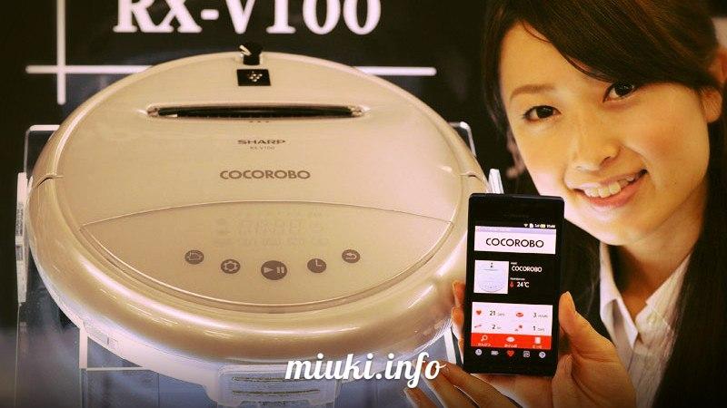 Японские роботы-пылесосы