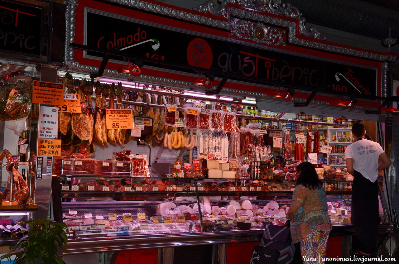 Испанская еда, цены, магазины