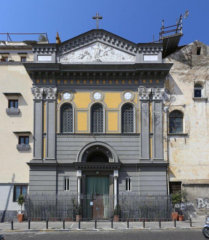 Naples. Church of Santa Lucia Vergine al Monte(Chiesa di Santa Lucia Vergine al Monte)