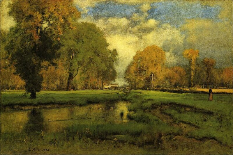 Inness George. October