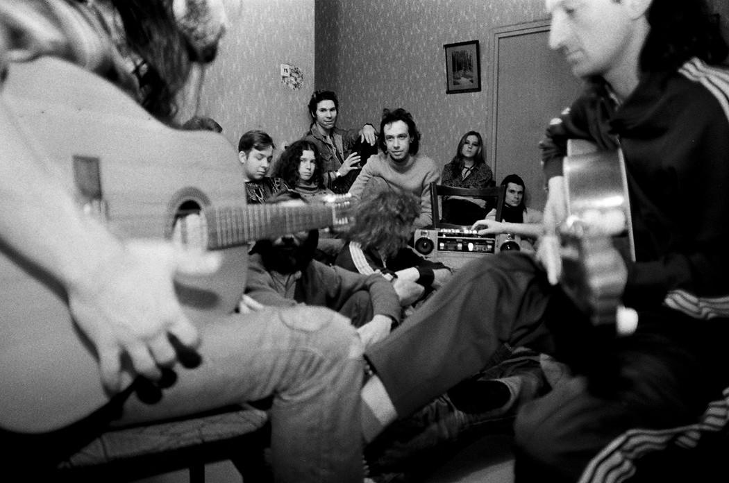 Квартирный концерт, Москва, 1988 год.