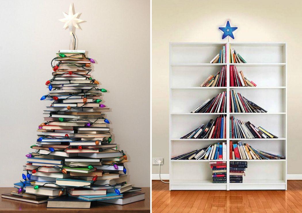8. Для книголюбов Зачем рубить деревья и делать из них книги? Давайте лучше наоборот.