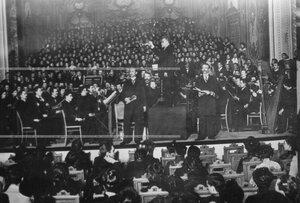 Концерт, посвященный празднованию 50-летия консерватория.