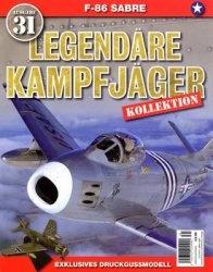 Журнал North American F-86 Sabre (Legendare Kampfjager №31)