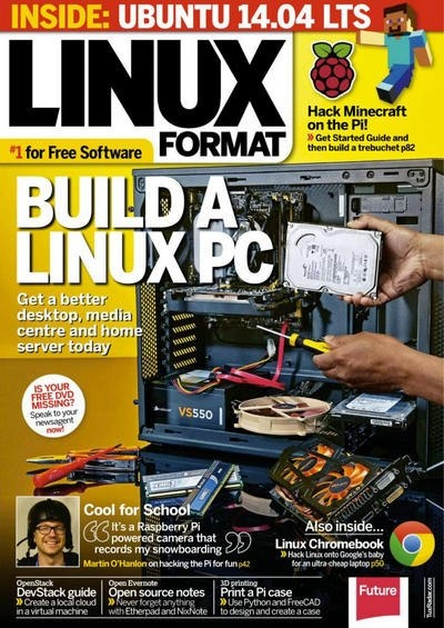 Книга Подшивка журналов:  Linux Format [UK] №№184, 185 (июнь, июль 2014)  [En]