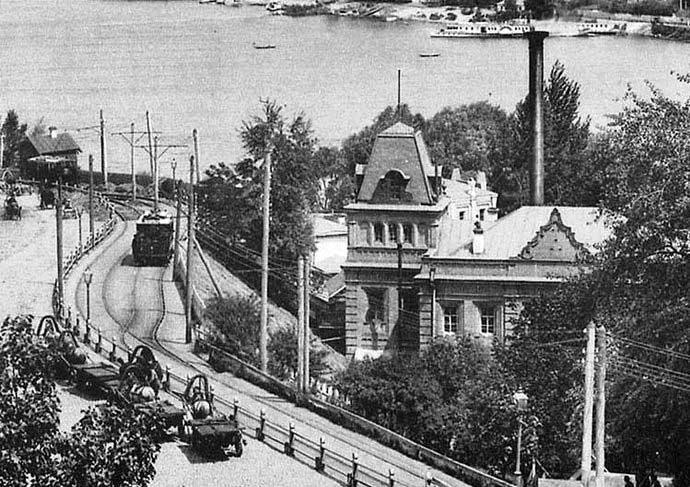 Здание заведения минеральных вод. 1900-е