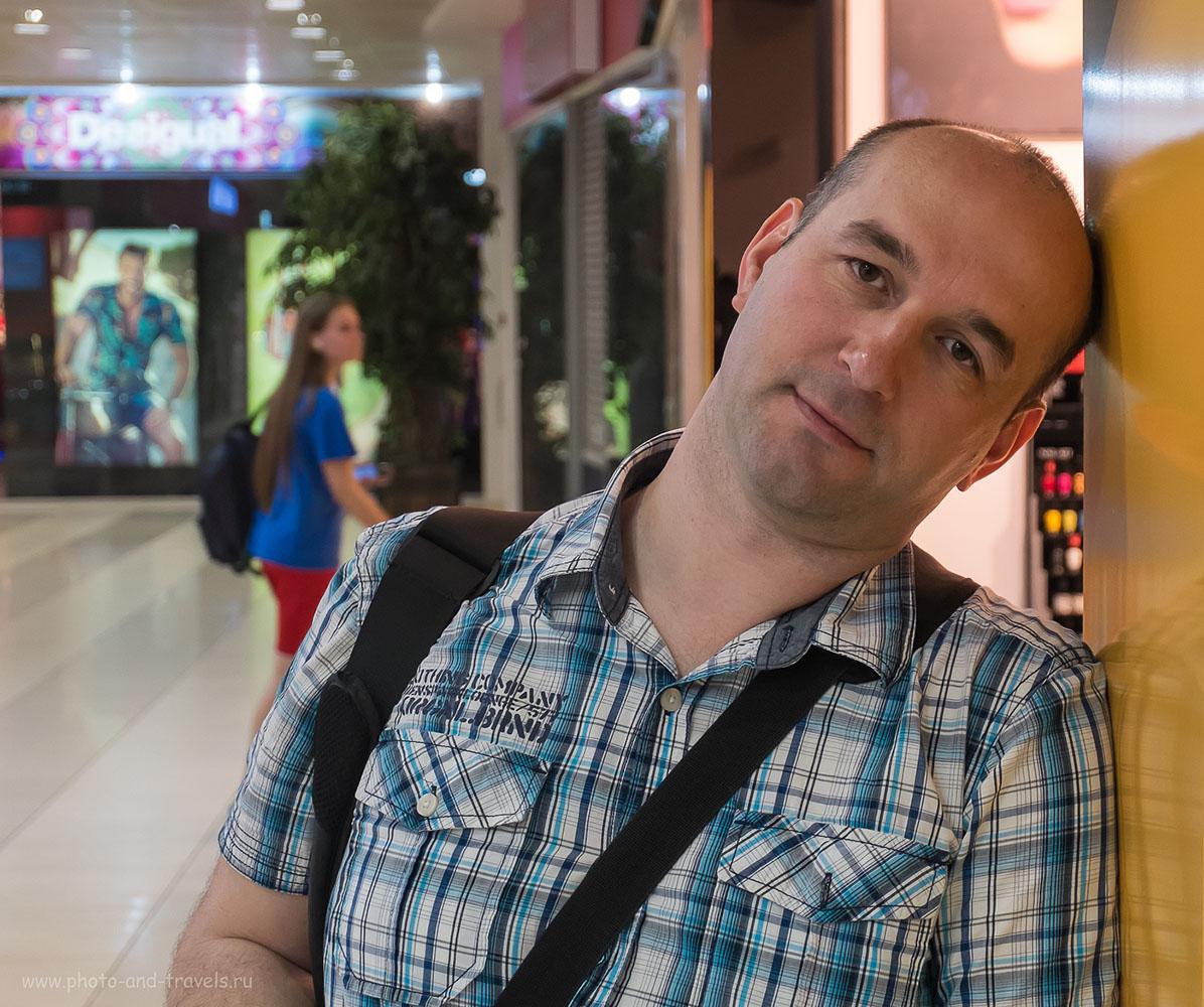 Фото 2. Как снять резкий портрет в помещении на беззеркальную камеру Fujifilm X-M1? Поднять ISO.