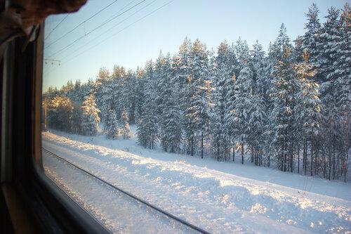 Карелия 2014. По железной дороге домой