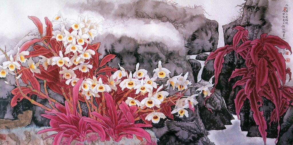 Будь благодарен женщине за песню! КИТАЙСКАЯ живопись / Yitao Liu