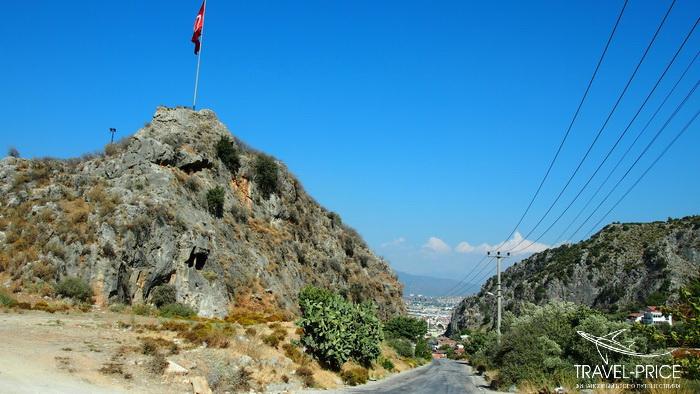 Дорога в Фетхие, замок Фетхие