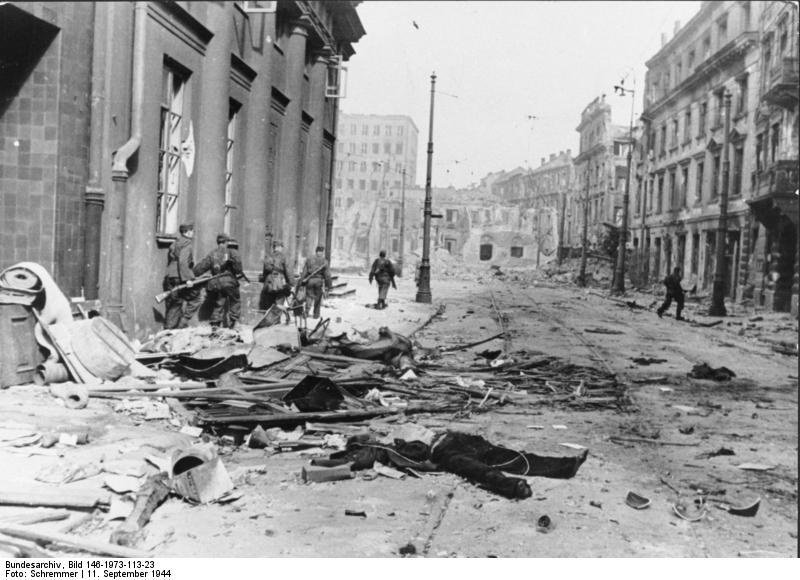 Warschauer Aufstand, StraЯenkдmpfe