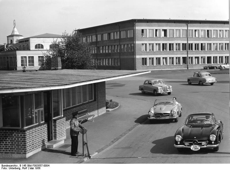 Sindelfingen, Mercedes Autowerk, Hauptgebдude