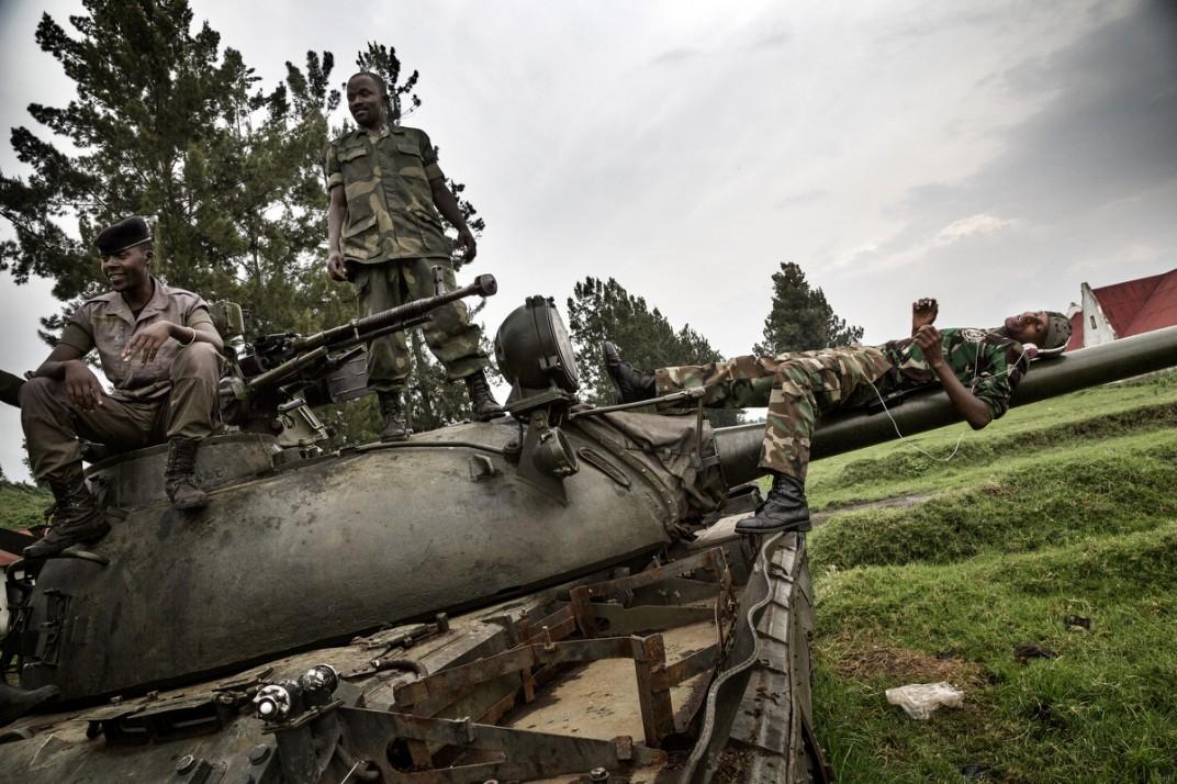 Конго - солдаты на снимках британского фотографа Marcus Bleasadale (4)