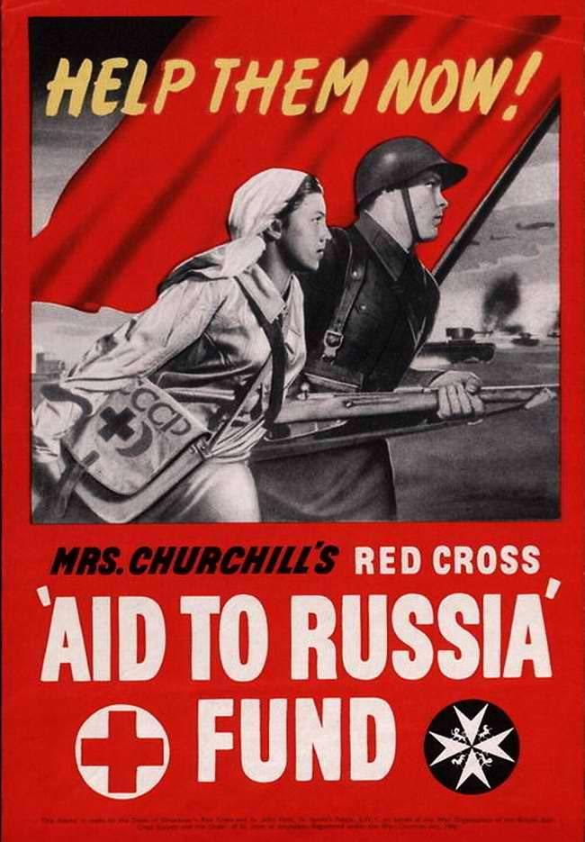 Поможем обществу Красного Креста в России! (Великобритания)