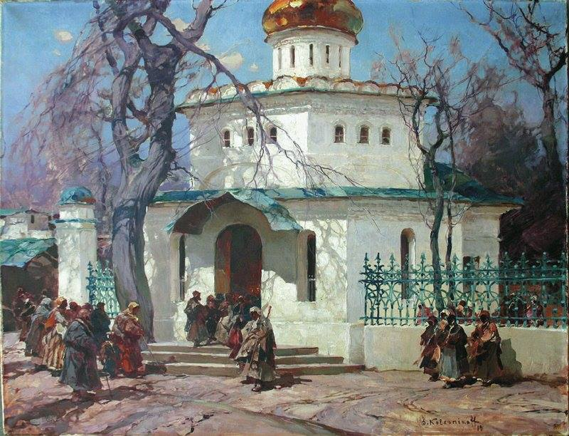 Колесников Степан Федорович (1879, с. Андрианополь Украина – 1955, Белград)