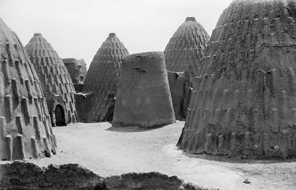 Деревня племени масгам, Чад