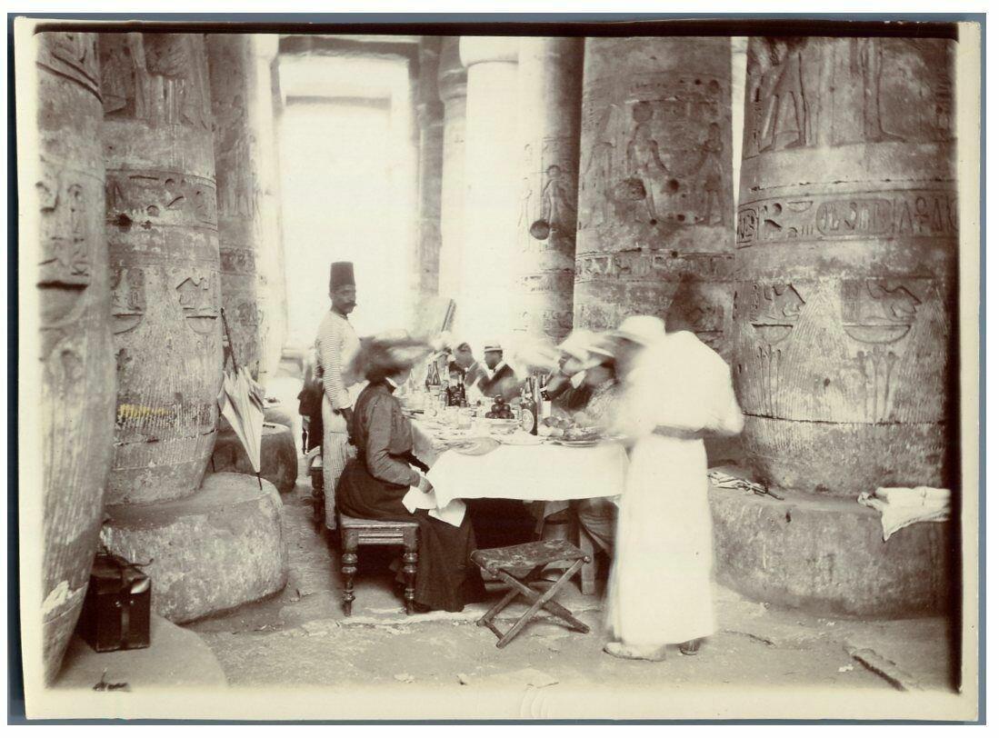 Abydos. В храме Сети I. 1900