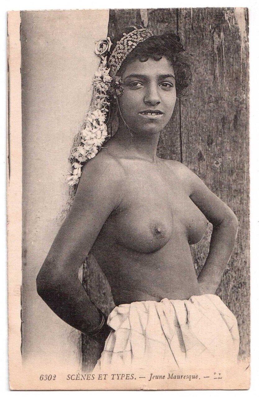1900. Девушка мавританка