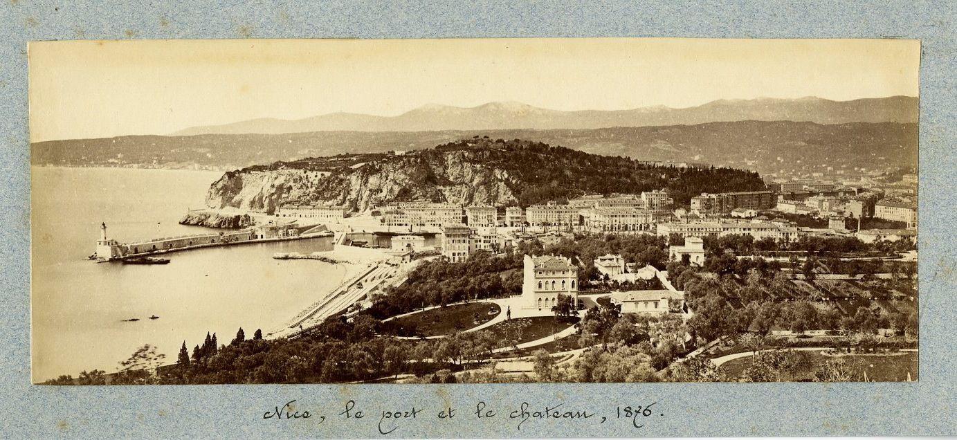 1876. Порт и Шато