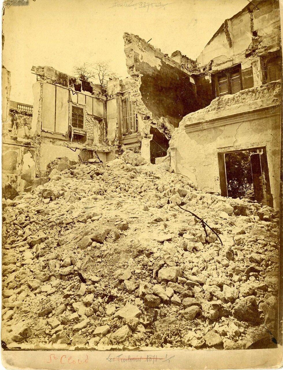 Разрушения в Сен-Клу