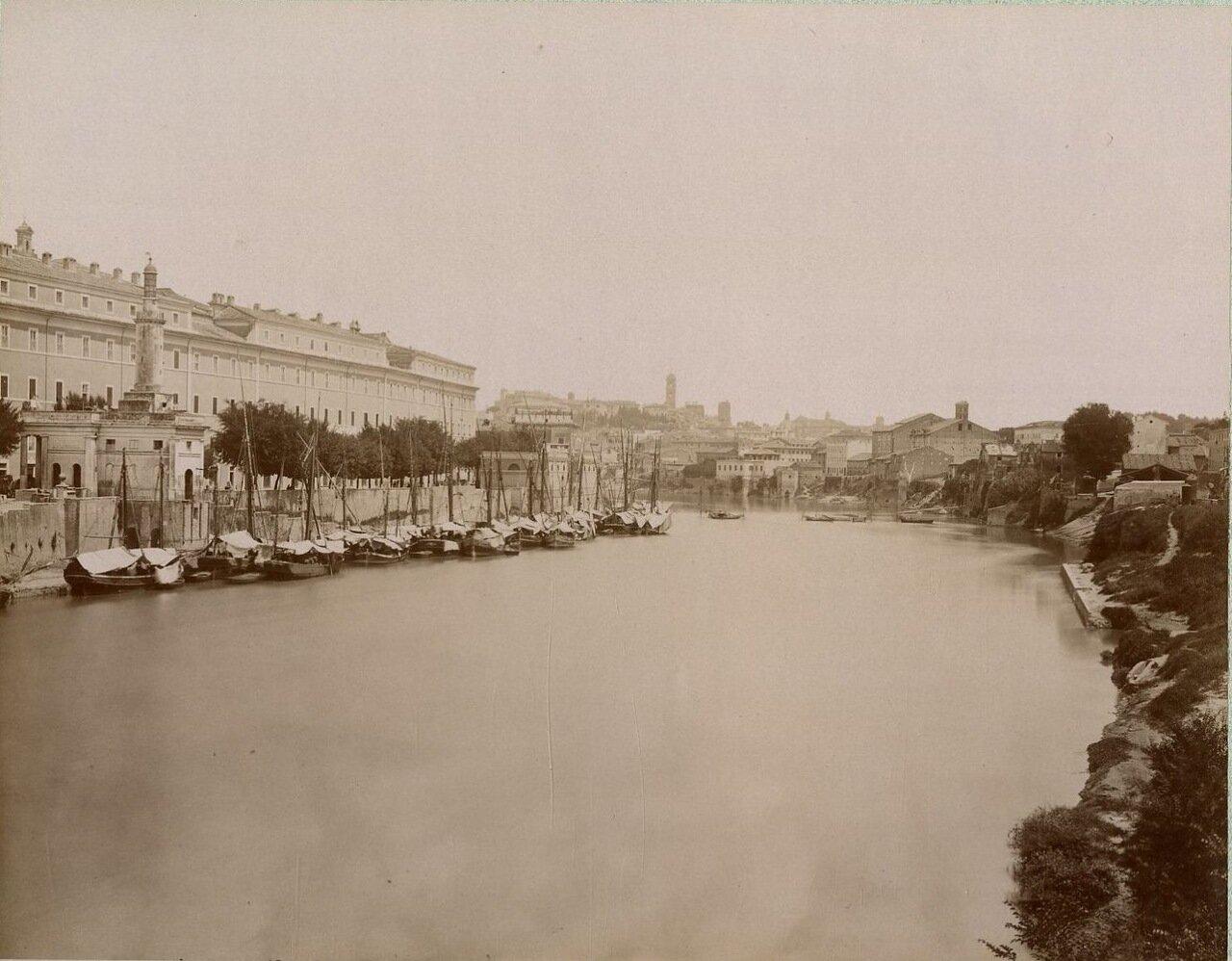 Гавань Рипа Гранде. 1880.