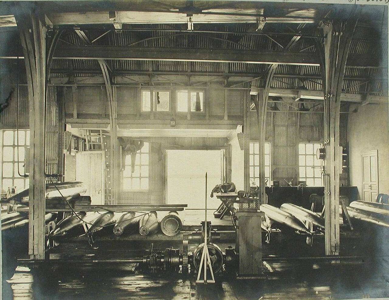 23. Внутренний вид одного из помещений минной пристрелочной станции
