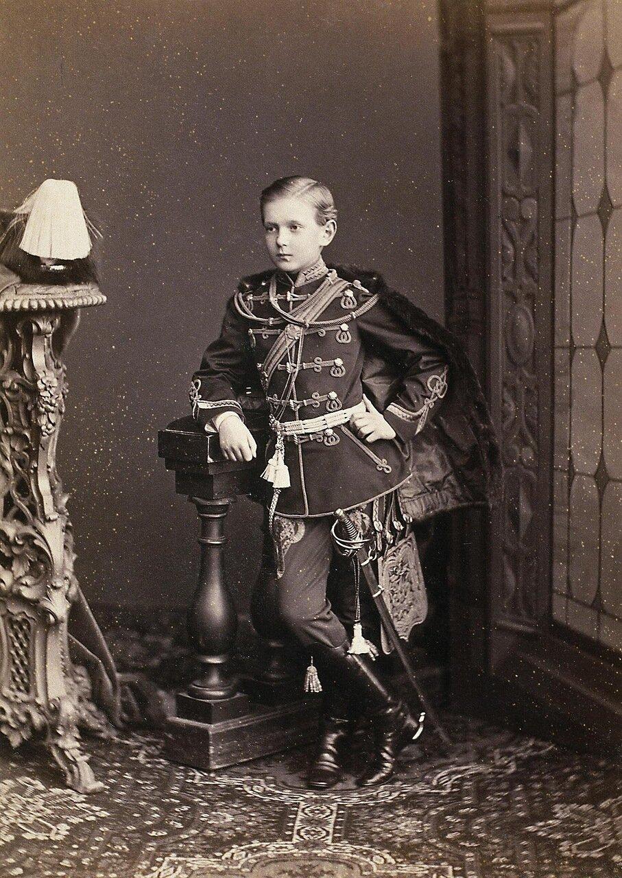 Портрет великого князя Сергея Александровича. 1869