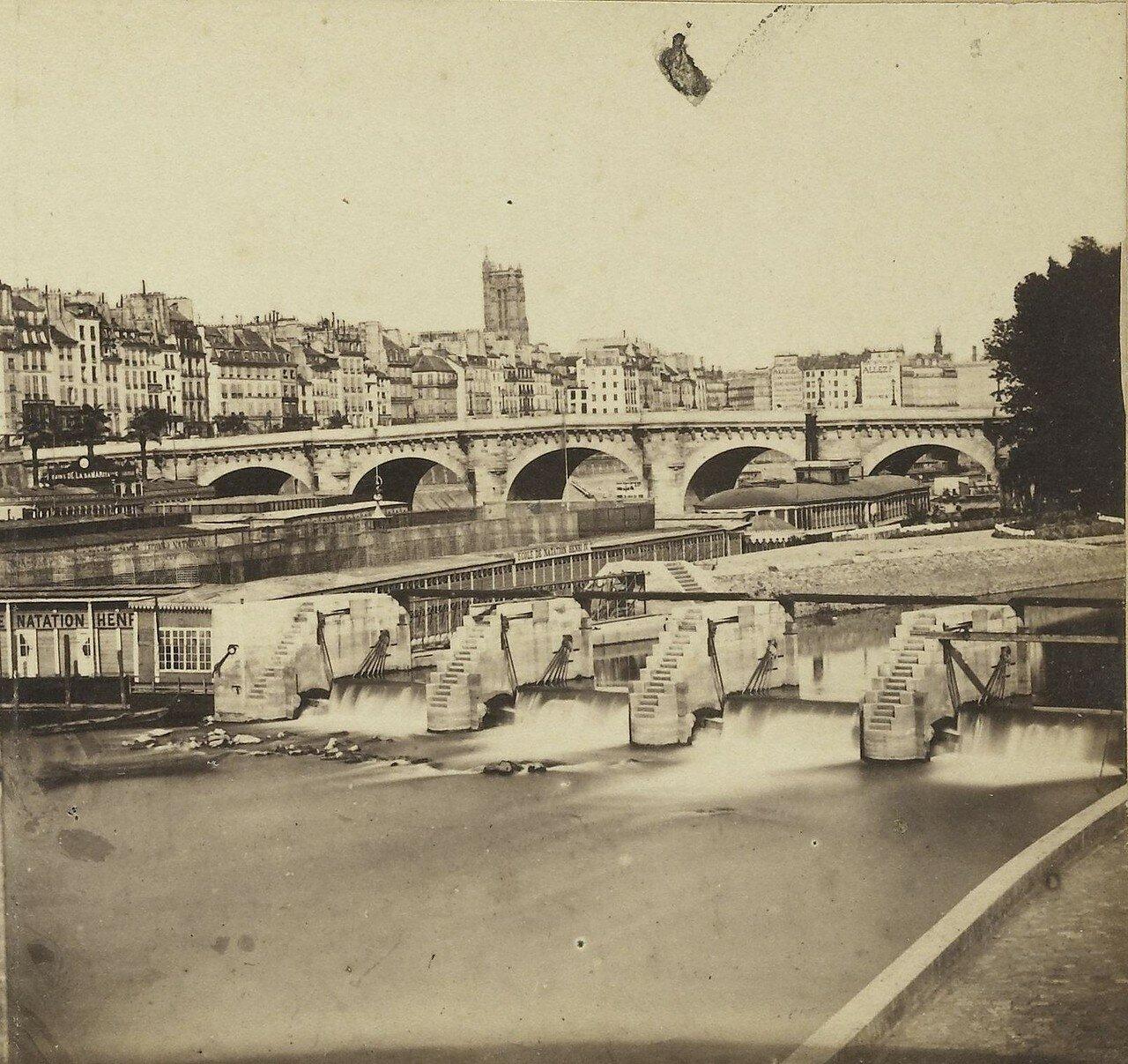 1855. Берега Сены