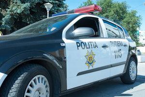 У полицейских в Молдове отобрали автомобиль и затем его сожгли