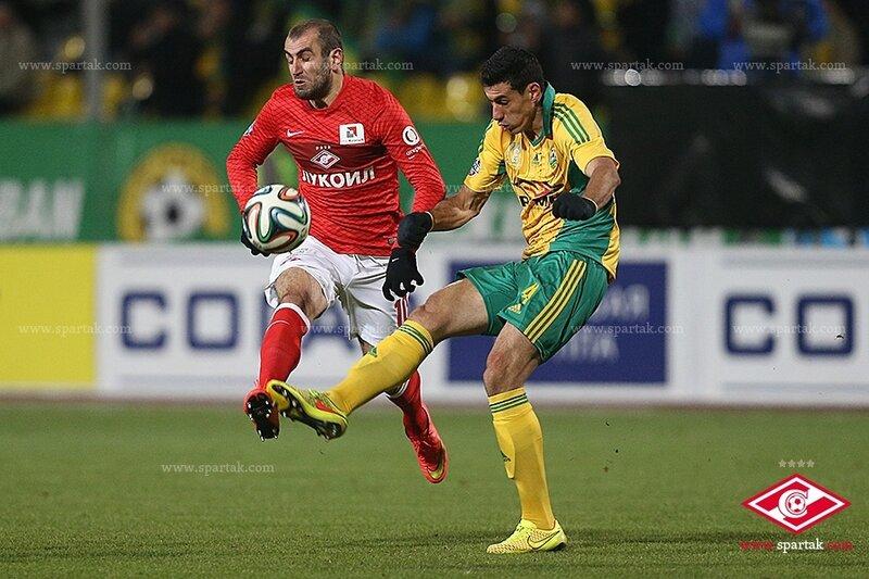 «Кубань» vs «Спартак» 3:3 Премьер-лига 2014-2015 (Фото)