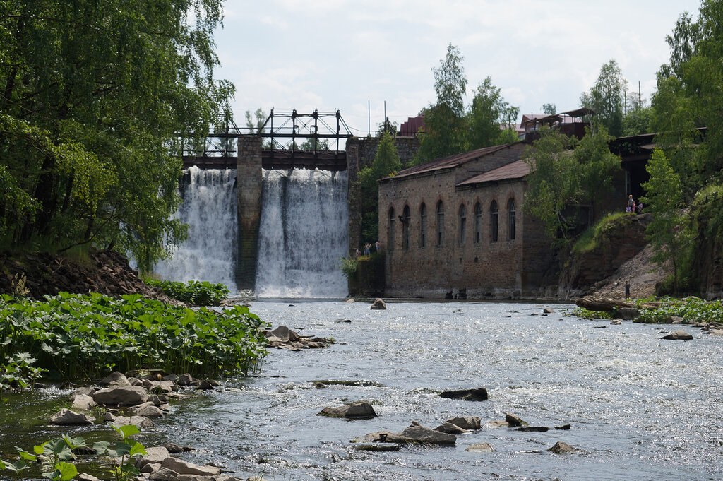 Гидроэлектростанция Пороги