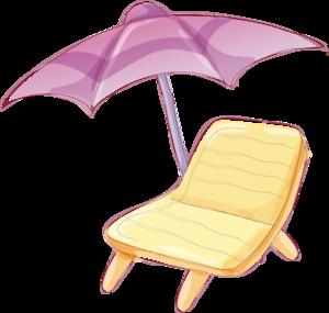 зонт, лежак