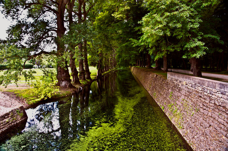 В парке замка Шенонсо