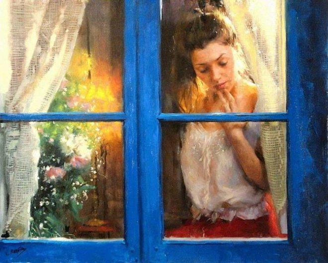 Висенте Ромеро Редондо: картины маслом 0 107fbb b5932758 orig