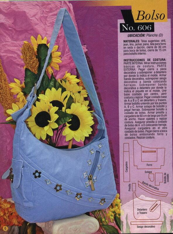 Журналы с выкройками сумок