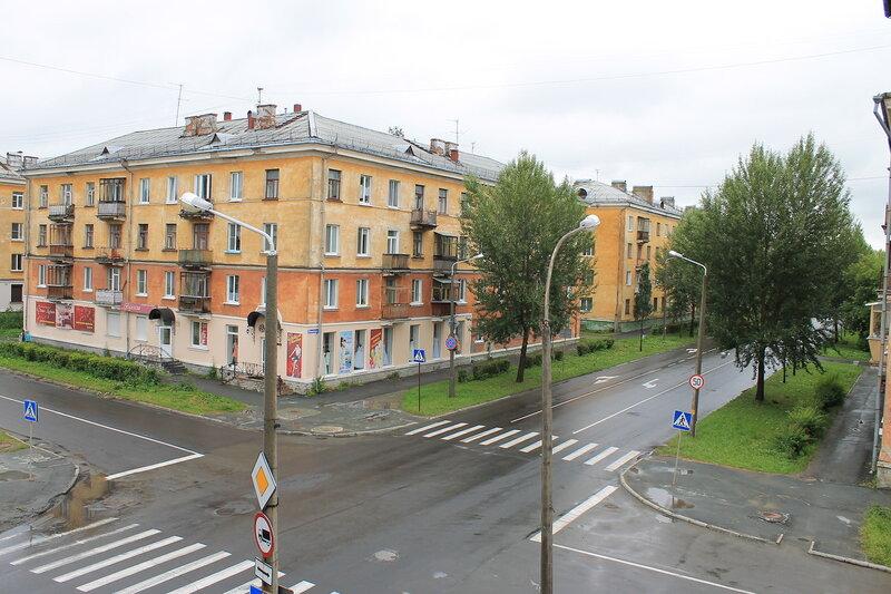 Заброшенный дом на Первомайской.