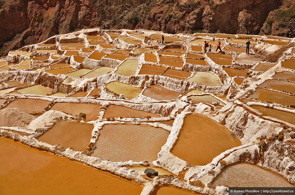0 16a1fe c0cd5518 orig Морай и соляные копи Мараса недалеко от Куско в Перу