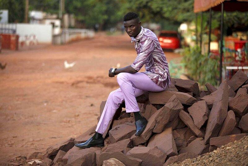 Модники Мали, одной из самых бедных стран Африки и мира