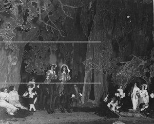 """Сцена из спектакля """"Юность короля Людовика""""."""