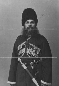 Конвоец- урядник (портрет).