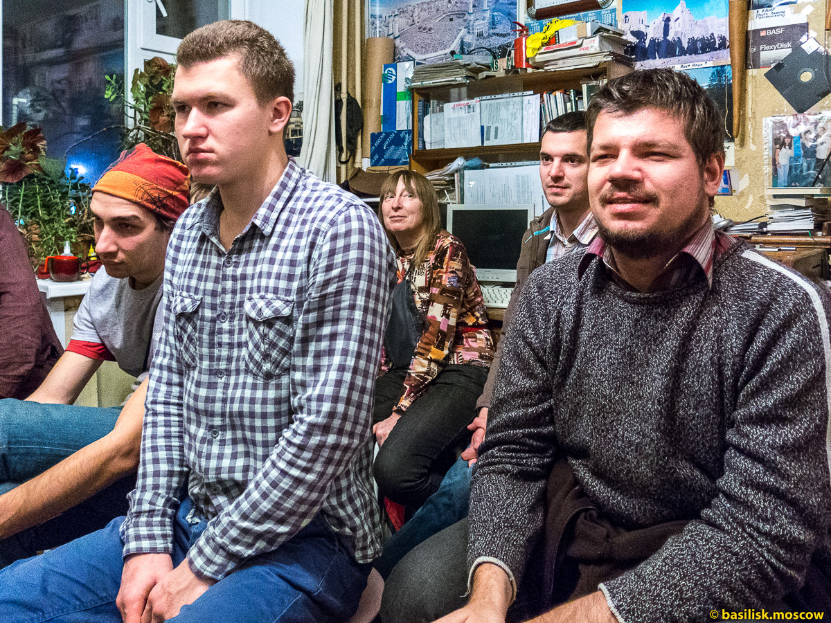 Вечер на квартире Антона Кротова