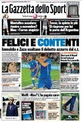 Журнал La Gazzetta dello Sport  (5 Settembre 2014)